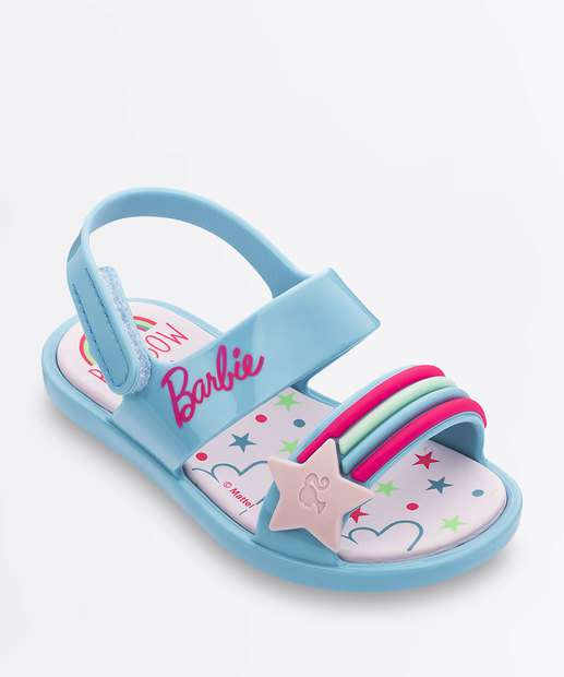 Image_Sandália Infantil Bebê Barbie Beauty Grendene Kids