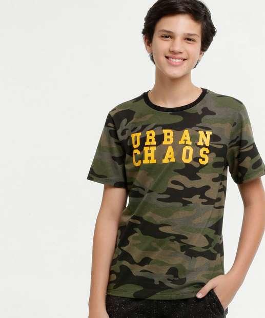 Image_Camiseta Juvenil Estampa Camuflada Manga Curta MR
