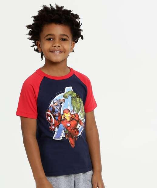 Image_Camiseta Infantil Estampa Vingadores Marvel