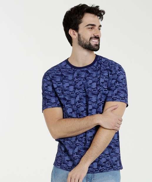 Image_Camiseta Masculina Estampa Camuflada Star Wars Disney