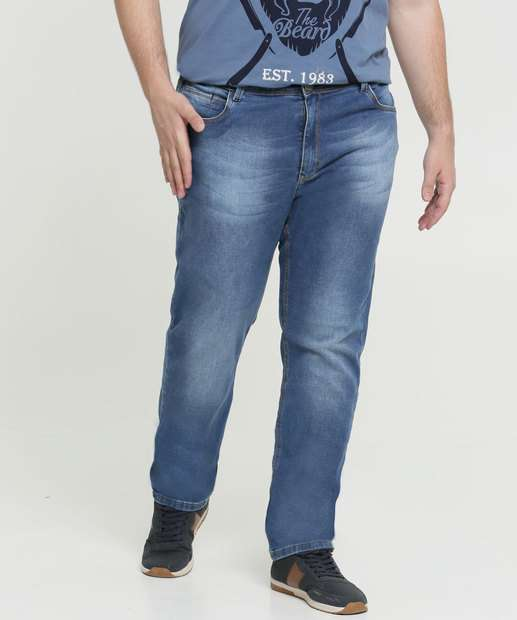 Image_Calça Masculina Jeans Slim Bolsos Plus Size Razon