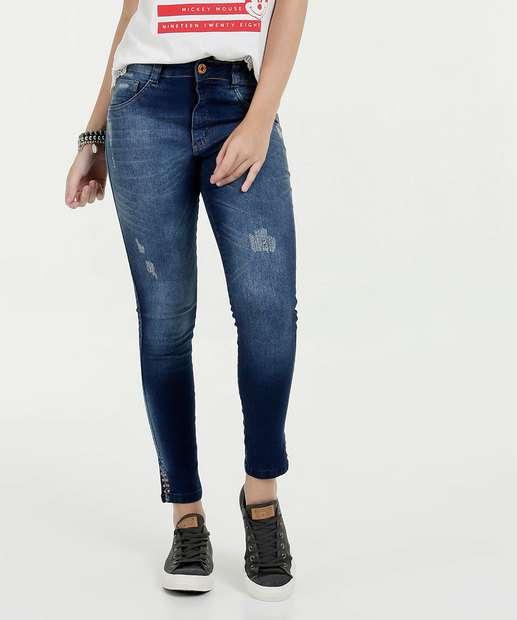 Image_Calça Feminina Jeans Cigarrete Puidos Biotipo