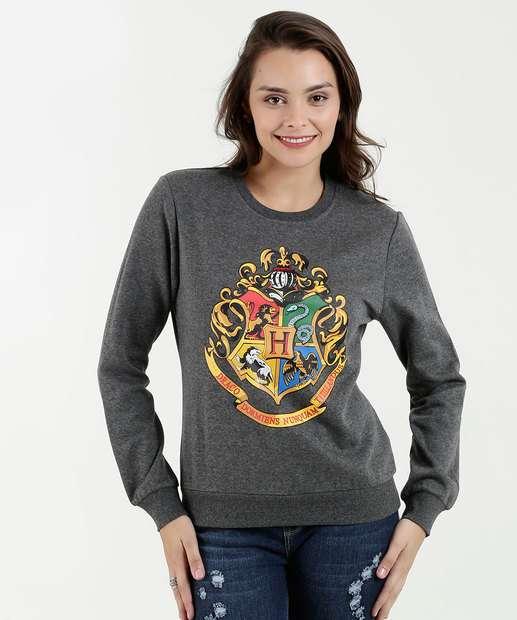 Image_Blusão Feminino Moletom Estampa Harry Potter Warner Bros
