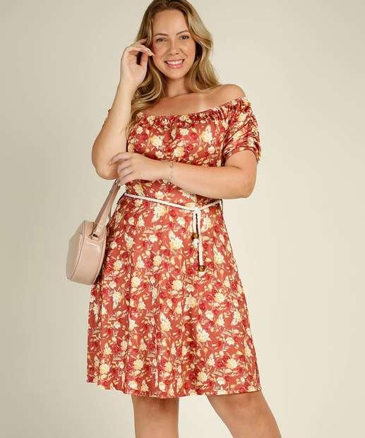 Image_Vestido Plus Size Feminino Ciganinha Estampa Floral Marisa