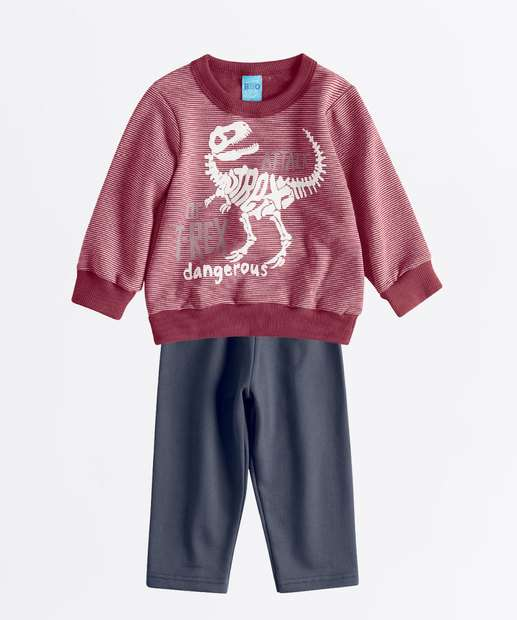 Image_Conjunto Infantil Estampa Dinossauro Manga Longa