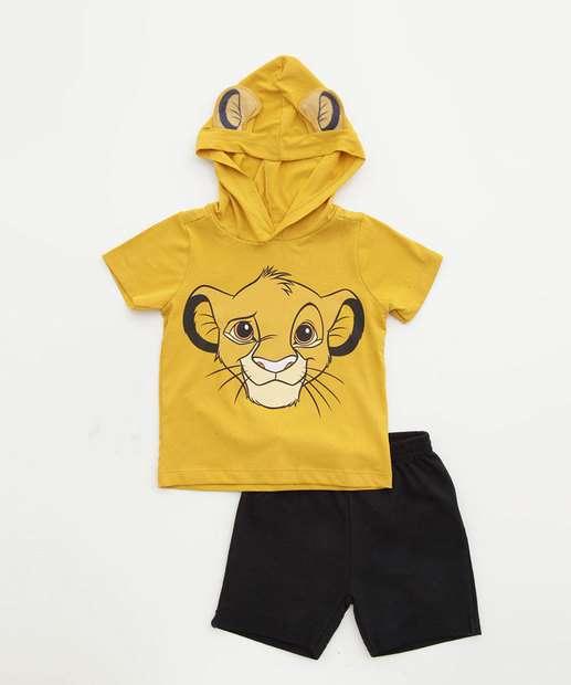Image_Conjunto Infantil Bebê Rei Leão Manga Curta Disney Tam 1 a 4