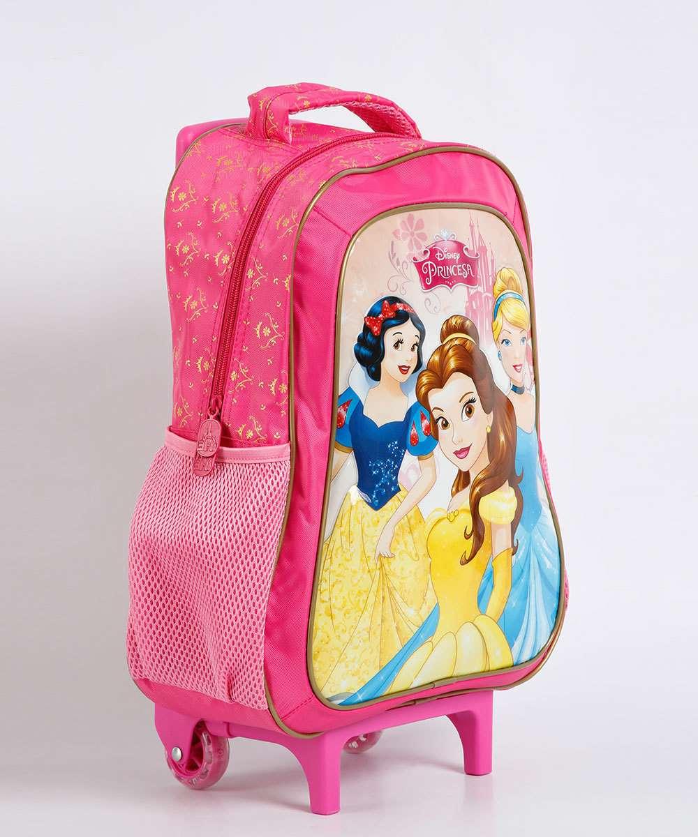 b3a293bf4 adicionar aos favoritos produto favoritado. Compartilhar. adicionar aos  favoritos produto favoritado. Mochila Escolar Infantil Rodinhas Estampa  Princesas ...