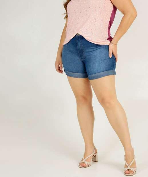 Image_Short Plus Size Feminino Jeans Razon