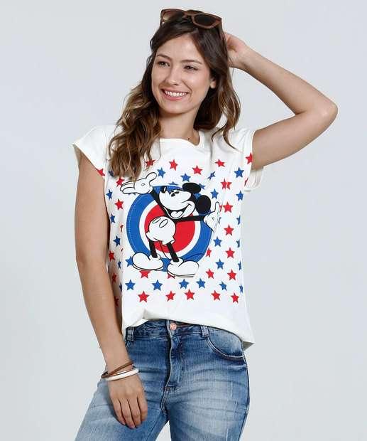 Image_Blusa Feminina Cropped Mickey Disney