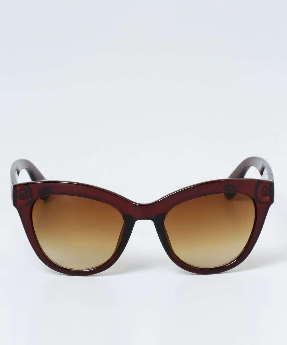 0099c3026 Óculos Feminino de Sol Gateado Vintage Marisa   Menor preço com cupom