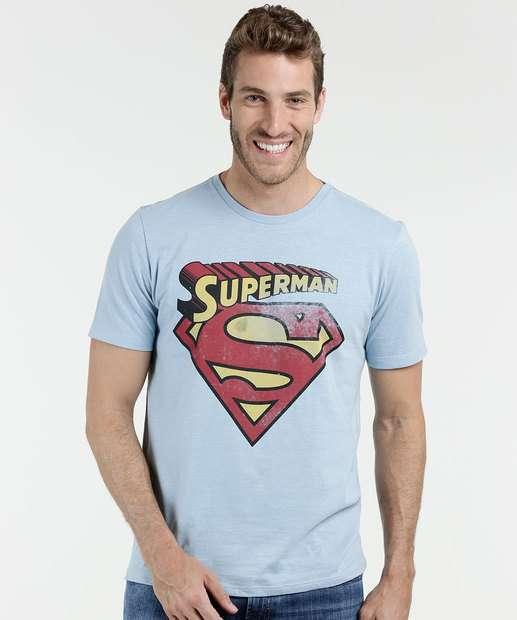 Image_Camiseta Masculina Super Homem Liga da Justiça
