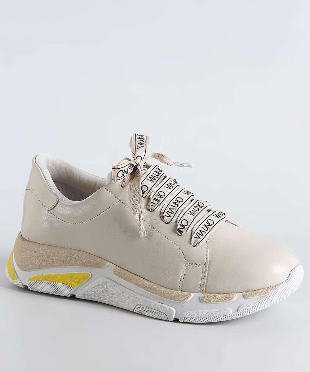 Tênis Feminino Chunky Sneaker Via Uno 385001SEAVV