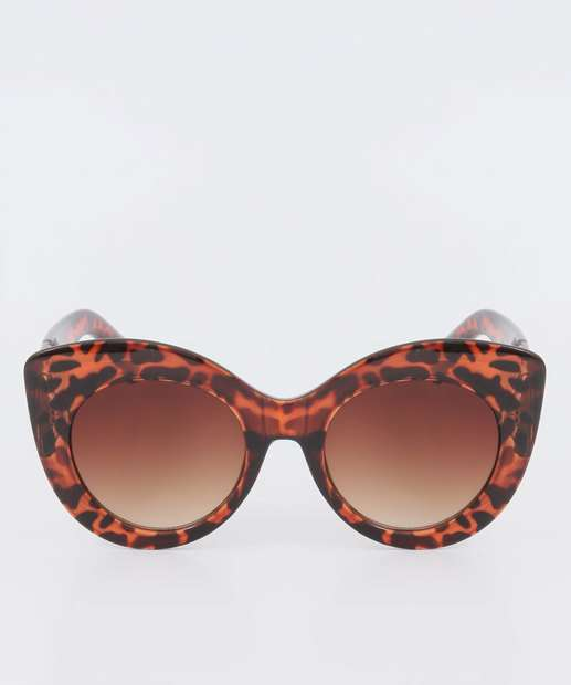 Image_Óculos de Sol Feminino Gateado Animal Print Marisa