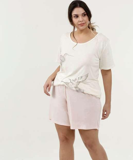 Image_Pijama Feminino Estampa Beija - Flor Plus Size Marisa