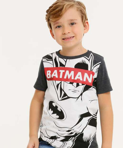 Image_Camiseta Infantil Manga Curta Batman Liga da Justiça Tam 4 a 10