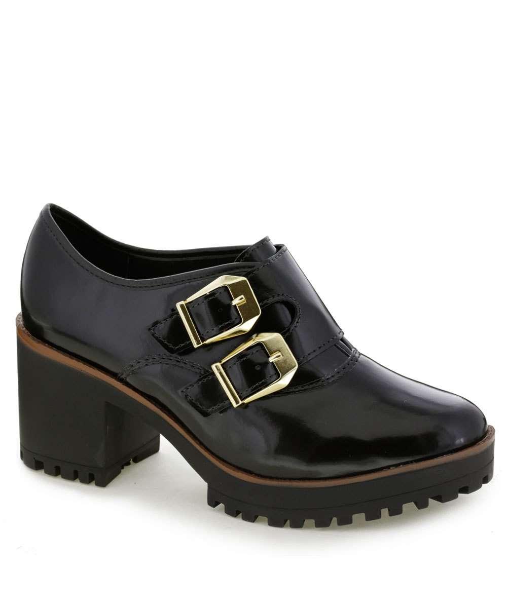 Bota Feminina Ankle Boot Fivela Moleca 5626103