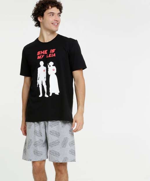 Image_Pijama Masculino Estampado Star Wars Disney