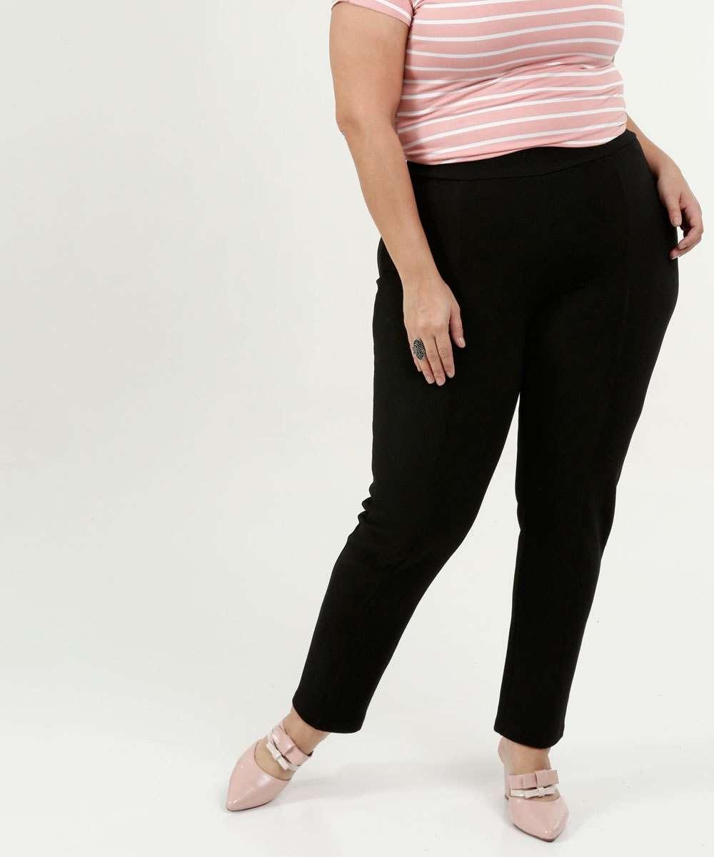 Calça Feminina Legging Plus Size