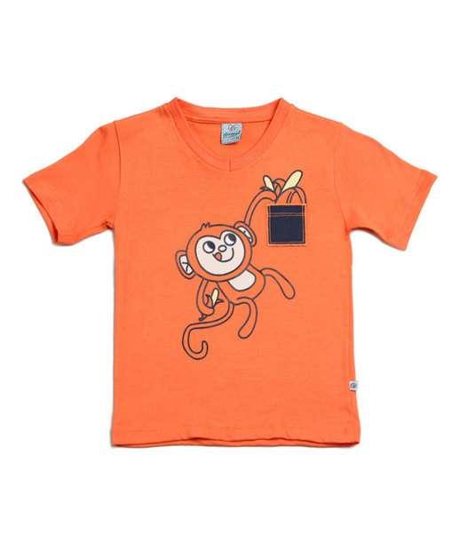 Image_Camiseta infantil estampa macaco Abrange