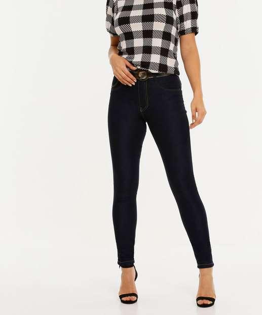 Image_Calça Jeans Skinny Feminina Cinto Biotipo