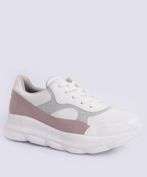 Image_Tênis Feminino Sneaker Recortes Via Marte