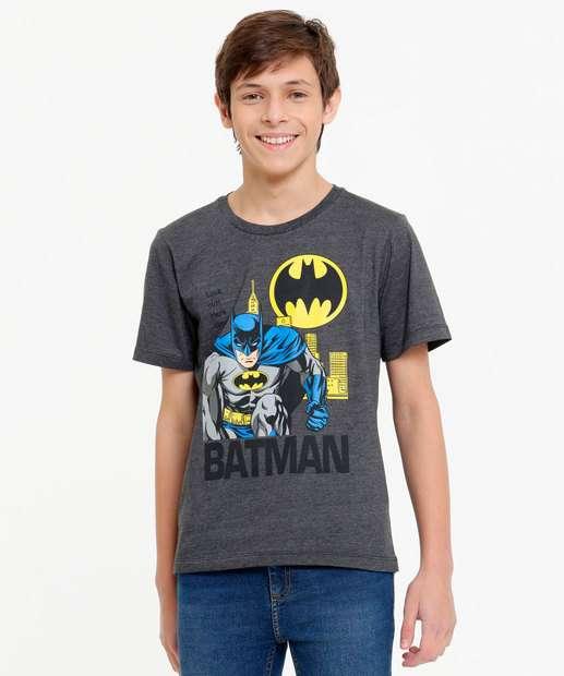 Image_Camiseta Juvenil Manga Curta Batman Warner Bros Tam 10 a 16