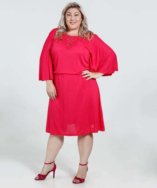 Image_Vestido Feminino Guipir Plus Size Marisa