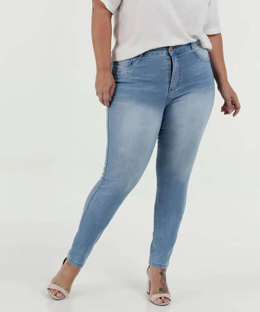 Image_Calça Feminina Jeans Skinny Cintura Média Plus Size Biotipo