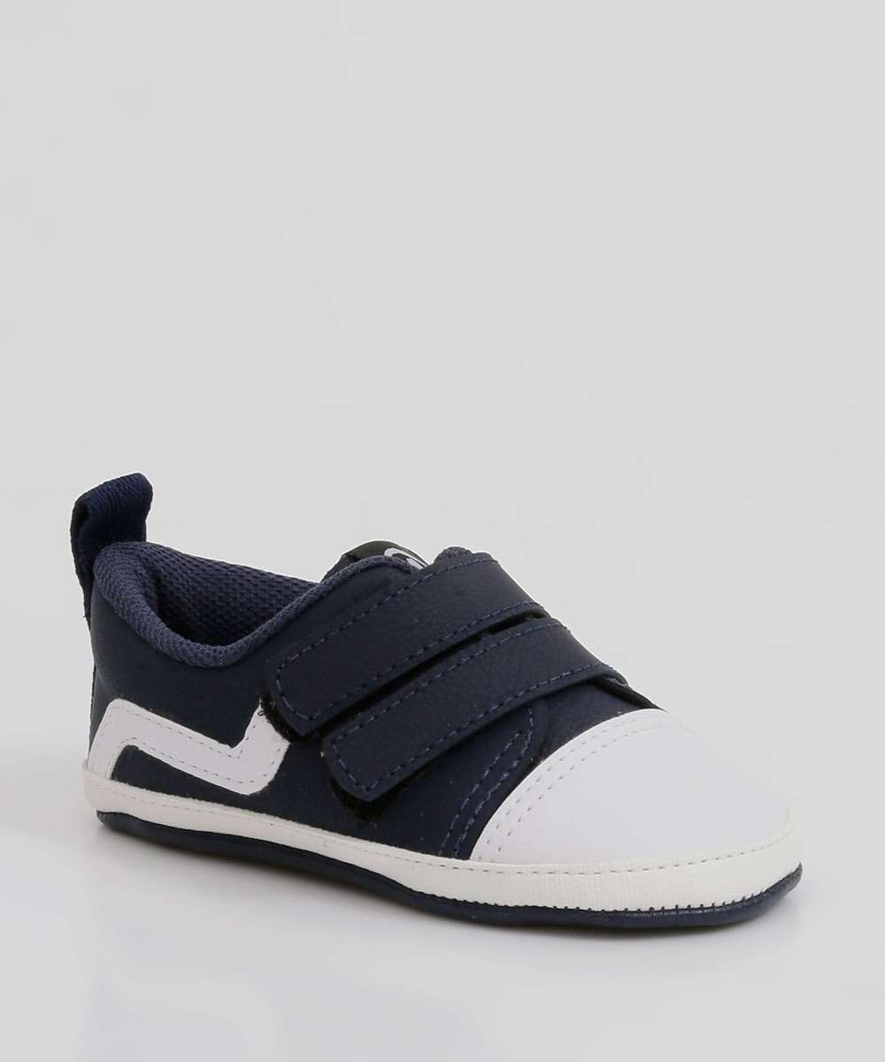 Tênis Infantil Casual Velcro Molekinho