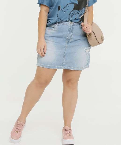 Image_Saia Plus Size Feminina Puídos Marisa Zune Jeans