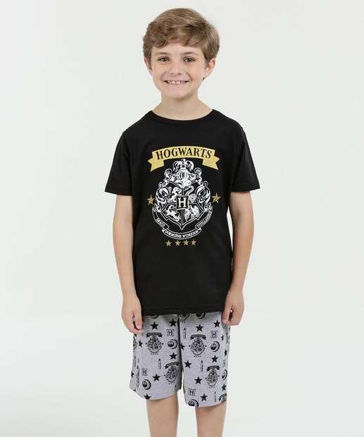 Image_Pijama Infantil Manga Curta Harry Potter Warner Bros