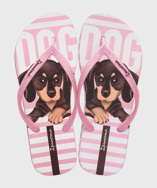 Image_Chinelo Feminino Estampa Cachorro Lovely Ipanema 26113
