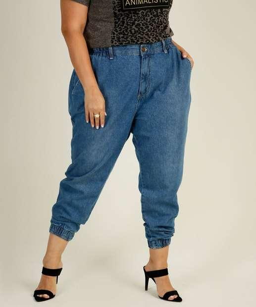 Image_Calça Plus Size Feminina Jeans Jogger