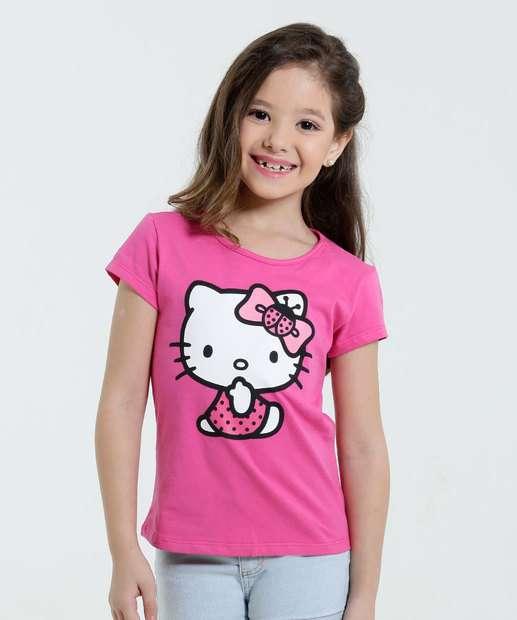 Image_Blusa Infantil Estampa Hello Kitty