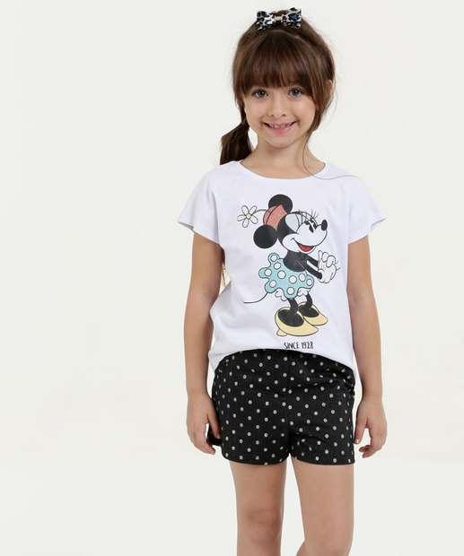 Image_Conjunto Infantil Estampa Minnie Manga Curta