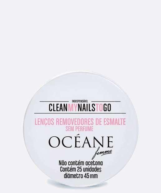 Image_Lenço Removerdor de Esmalte Sem Perfume Océane
