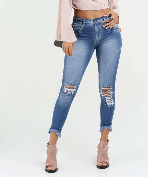 Image_Calça Feminina Jeans Capri Destroyed Biotipo
