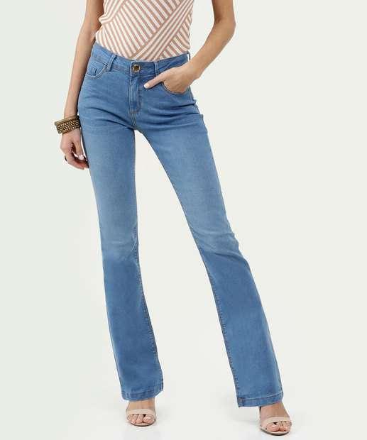 Image_Calça Feminina Flare Five Jeans