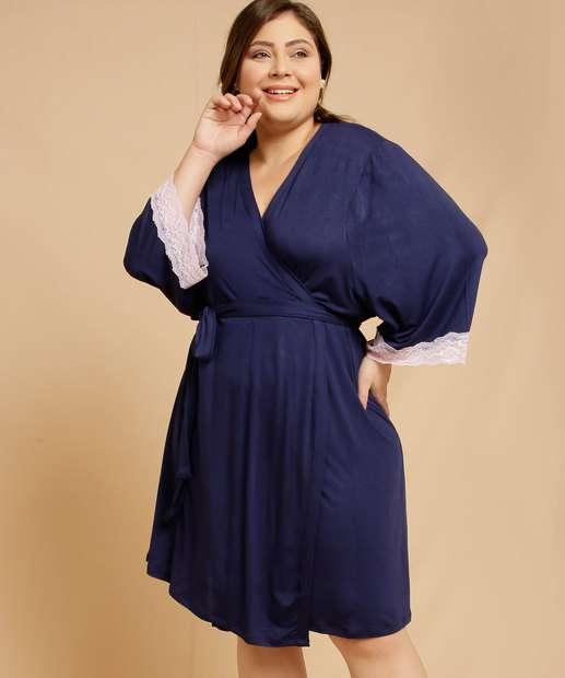 Image_Robe Plus Size Feminino Renda Manga Longa Marisa
