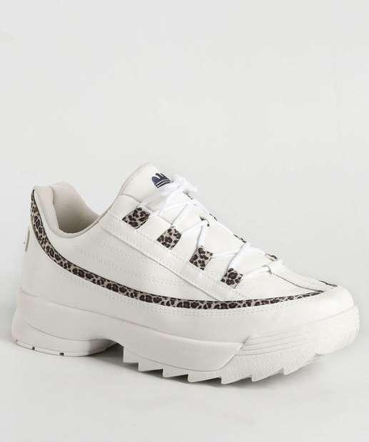 Image_Tênis Feminino Chunky Sneaker Estampa Animal Print Dakota