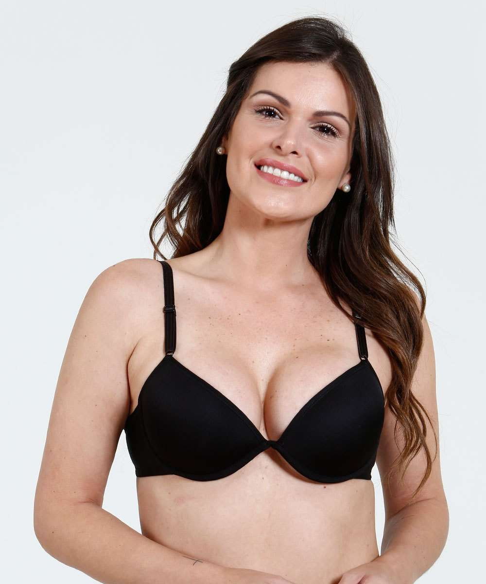 e4fd863c4 Kit 2 Sutiãs Feminino Push Up DelRio