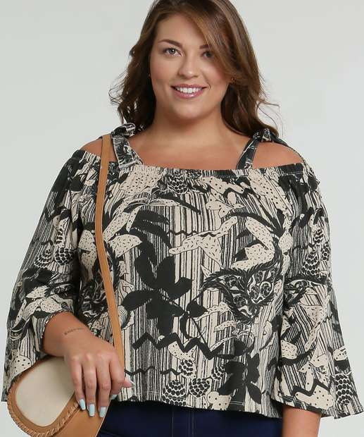 Image_Blusa Feminina Open Shoulder Estampada Plus Size Marisa