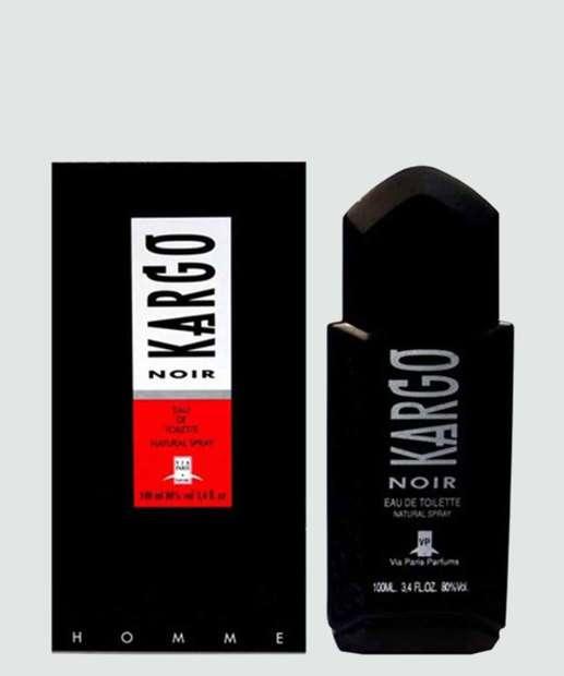 Image_Perfume Masculino Kargo Noir Via Paris Parfums - Eau de Toilette 100ml