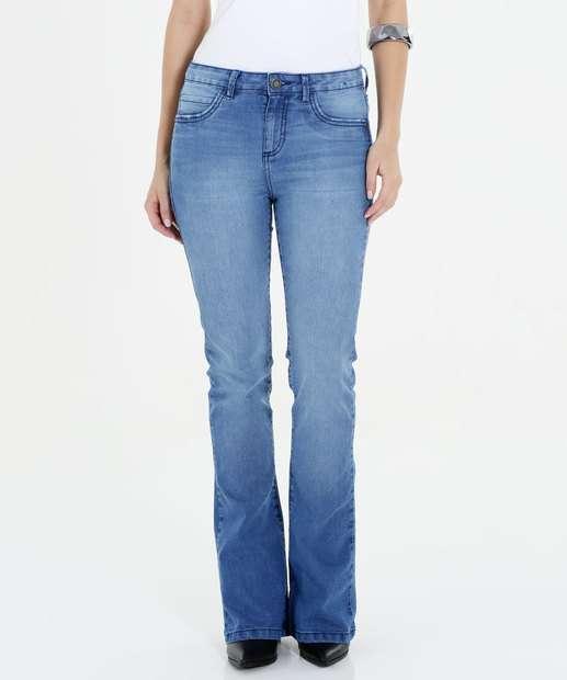 Image_Calça Feminina Jeans Flare Marisa