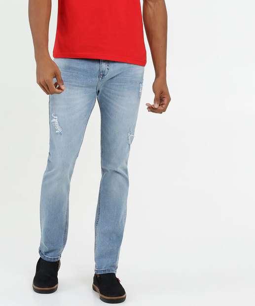 Image_Calça Masculina Jeans Destroyed Skinny