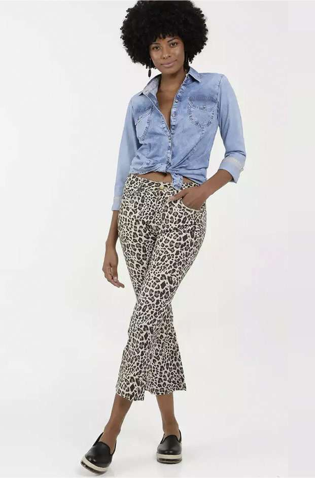 Camisa Jeans + Calça