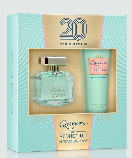 Image_Kit Feminino Antonio Banderas Queen of Seduction - Perfume e Loção Corporal