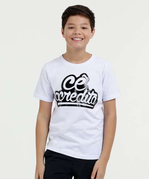 Image_Camiseta Juvenil Estampa Frontal Manga Curta Kevinho