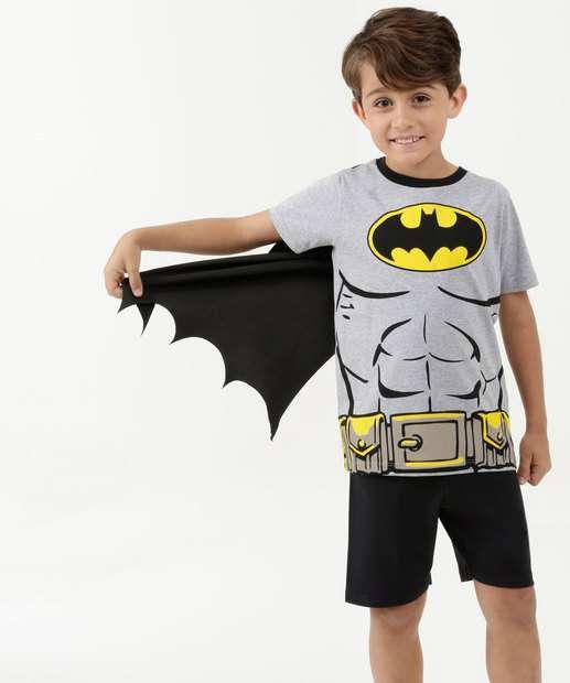 Image_Pijama Infantil Estampa Batman Capa Liga da Justiça
