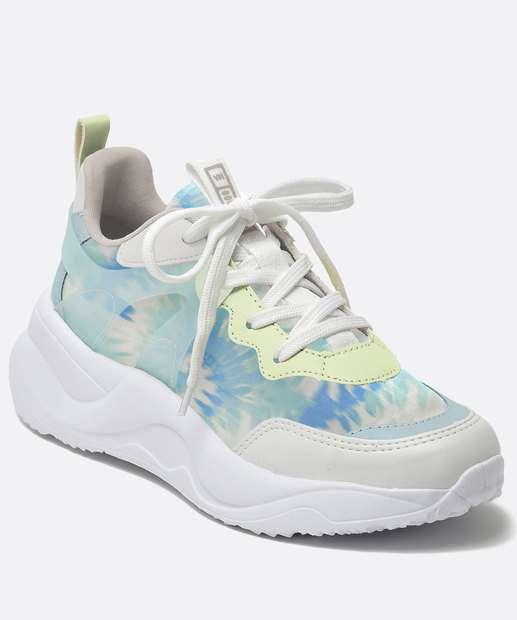 Image_Tênis Feminino Chunky Sneaker Tie Dye Via Marte